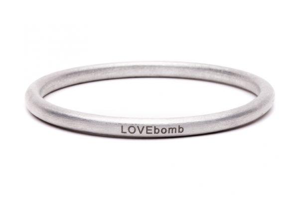 LOVEbomb Bangle - Etched