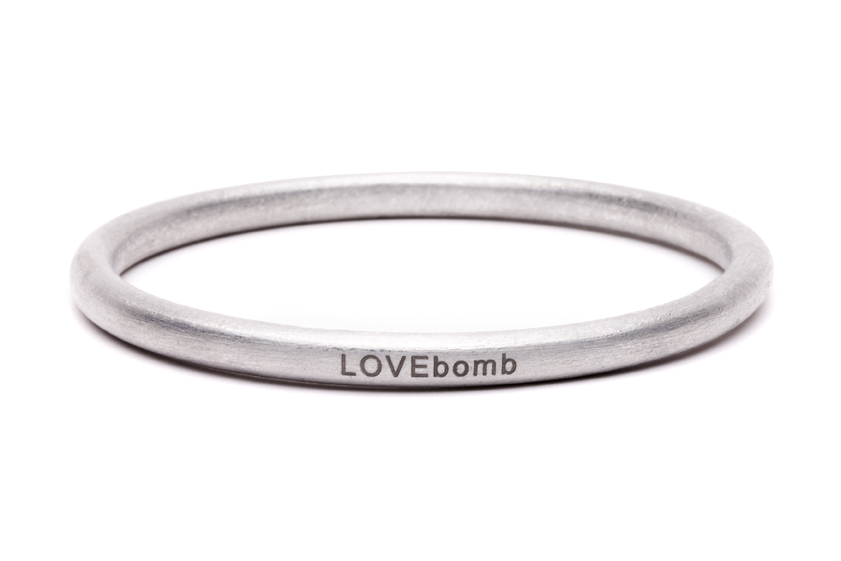 LOVEbomb Bangle - Etched